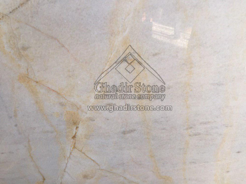 White & Gold Marble