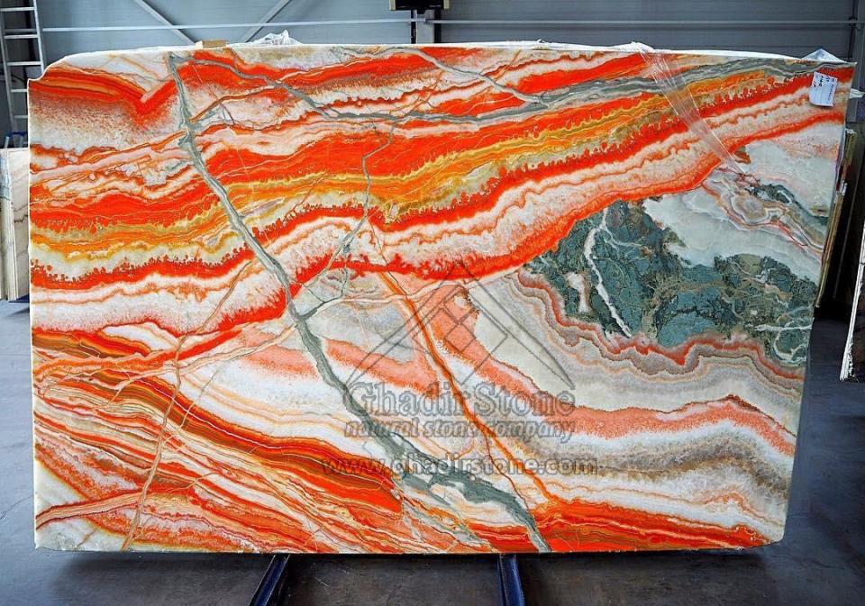 Multicolor Onyx slab