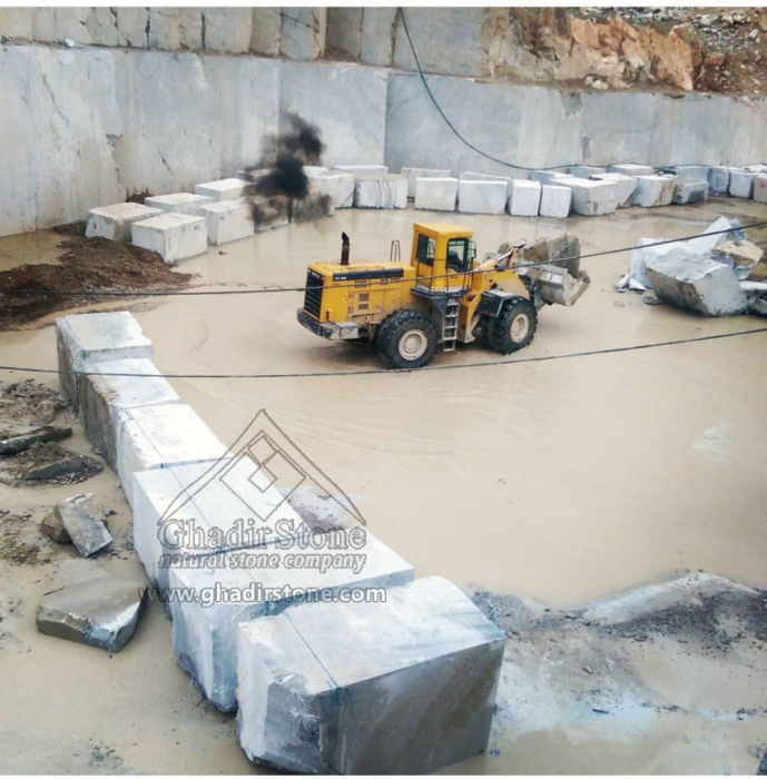 Gray Crystal quarry