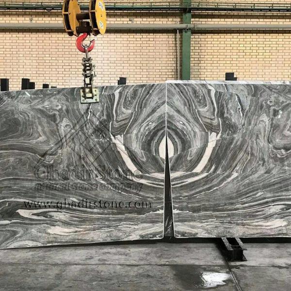 Black Crystal slab